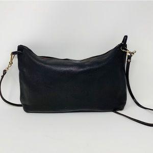 VTG Minimalist Genuine Leather Crossbody Bag